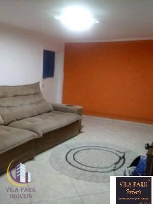 Imagem 1 de 14 de Sobrado Com 3 Dormitórios À Venda, 140 M² Por R$ 380.000,00 - Jaguaribe - Osasco/sp - So0616