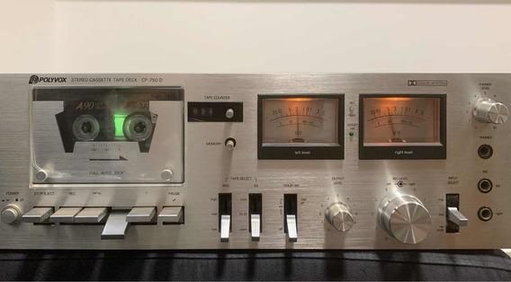 Tape Deck Polivox Cp 750 D