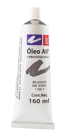 Pintura Oleo Atl Blanco Nº235 Pintura Arte Rodin Pincel