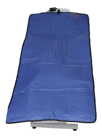Manta Térmica Estética Profissional Corpo Todo Azul 0,9x1,80m