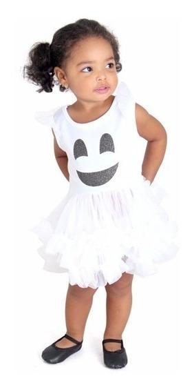 Disfraz Halloween Fantasma Blanco Bebe Sulamericana