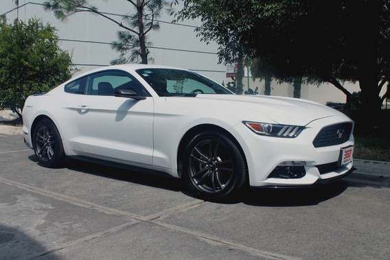 Ford Mustang Ecoboost 2017, Piel, Aire, Ele, Coupe, 4cil