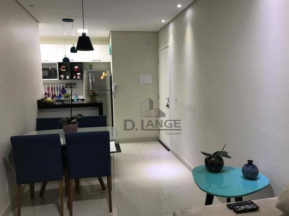 Apartamento Com 2 Dormitórios À Venda, 50 M² Por R$ 280.000 - Jardim Alto Da Boa Vista - Valinhos/sp - Ap17994
