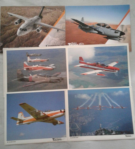 Embraer Kc 390 - Super Tucano - Lote 2 Livretos 4 Posters