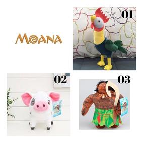 Galinho Ou Porquinho Moana Brinquedo De Pelucia Meninas