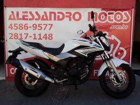 Yamaha Ys 250 Fazer Blueflex 2016 Branca Alessandro Motos