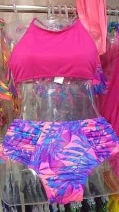 Calcinha Alta Hot Pant (lisa E Estampada)