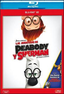 Blu-ray - Las Aventuras De Peabody Y Sherman (3d)