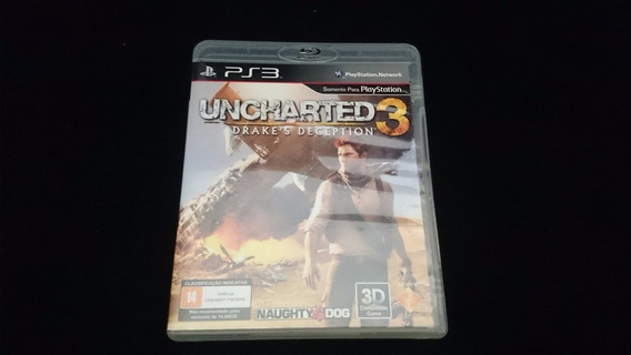 Jogo - Uncharted 3 Drake´s Deception