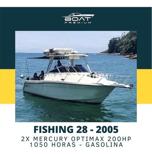 Imagem 1 de 7 de Fishing 28, 2005, 2x Mercury Optimax 200hp - Phantom -focker