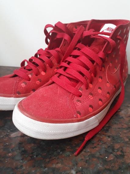 Zapatillas Mujer Rojas