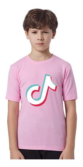 Los Niños De La Moda Tik Tok Crop Top Camiseta 3 Colores-2