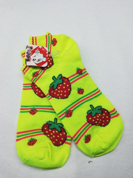 Calcetines Tines Calidad Premium Figuras Fresa Fosfo