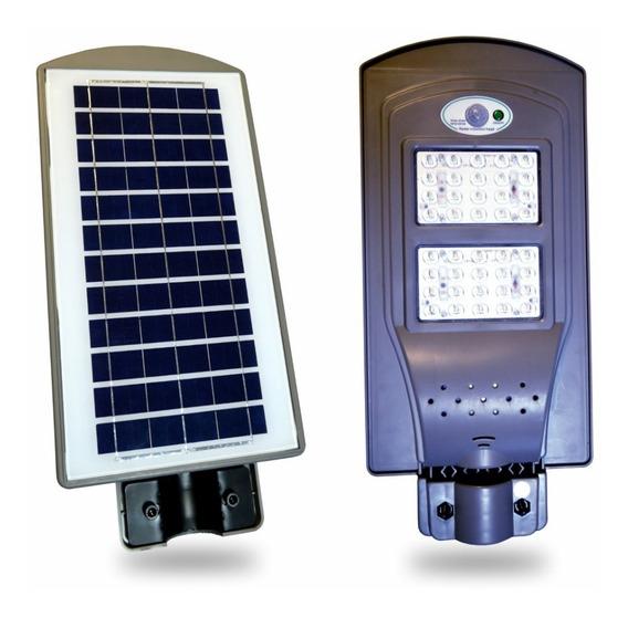 Refletor Luminária Pública Solar Led 40w - 12h Acessa