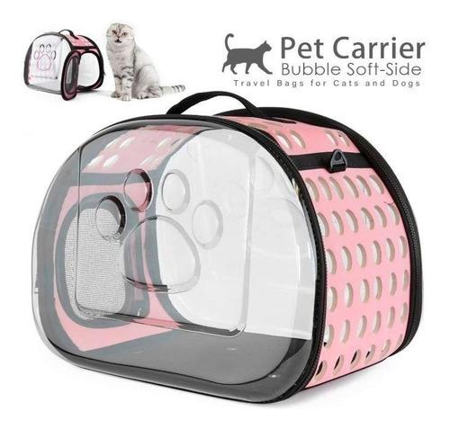 Porta Mascota Bolso Panoramico Perros Gatos 42x28x32cm P106