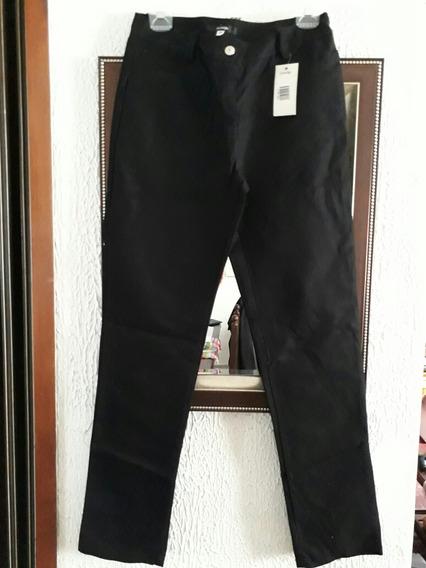 Pantalón Gabardina Negro Dama