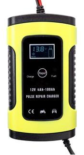 12v 6a Cargador De Batería De Coche Automático Completo