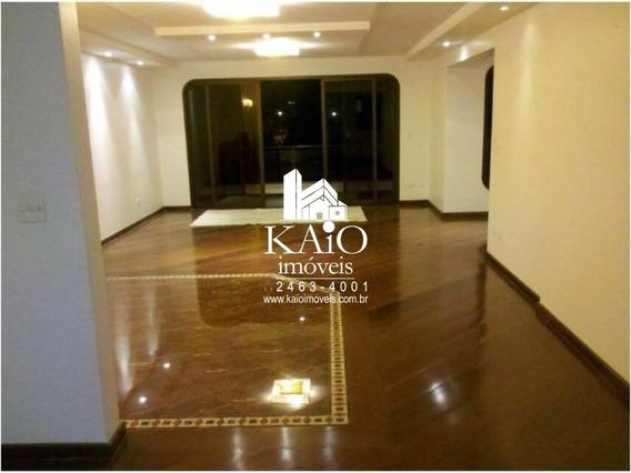 Apartamento De 230m² Com 4 Dormitórios 3 Suítes 3 Vagas - Ap1115