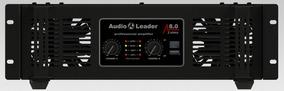 Potencia Amplificador Áudio Leader Al 8.0 8000 W Rms 2 Ohms