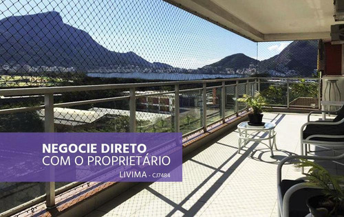Cobertura Duplex, Vista Incrível, À Venda No Leblon - Rj - Co0024