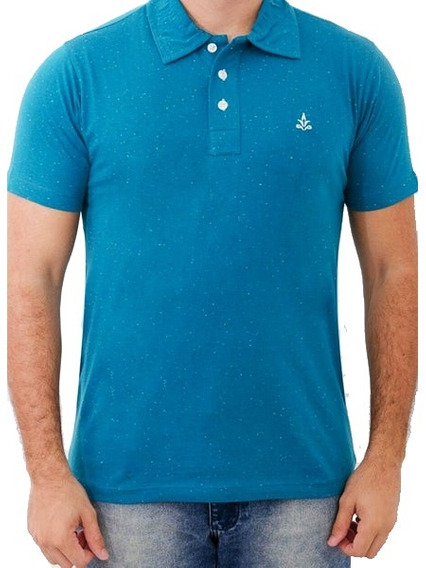Camisa Polo Barrocco Azul