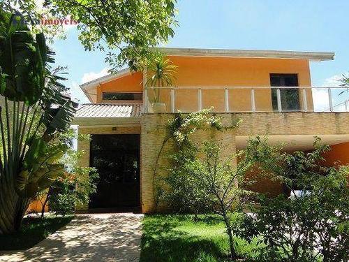 Casa Com 3 Dormitórios À Venda, 355 M² Por R$ 1.400.000,00 - Aldeia Da Serra - Santana De Parnaíba/sp - Ca0255