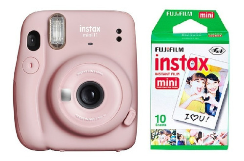 Cámara Instantanea Fujifilm Instax Mini 11 Selfie + 10 Fotos