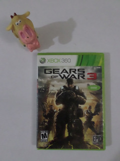 Gears Of War 3 Xbox 360 Uno De Los Indispensables