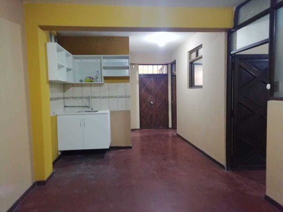Alquilo Departamento, 2do Piso, En Urb Zarate - Sjl