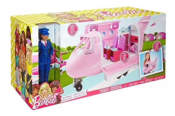 Barbie Avião De Luxo Jatinho Da Barbie Original Mattel