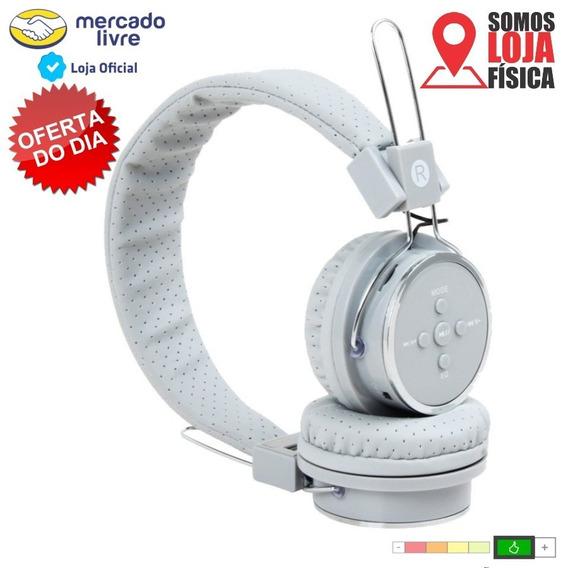 Fone De Ouvido Heardphone Bluetooth Sem Fio Celular Mp3