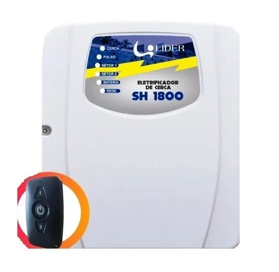 Kit Cerca Eletrica E Alarme + Bateria+ Sirene+ Brinde