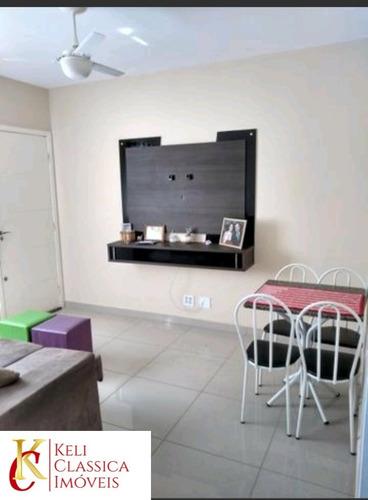 Vende-se Apartamento Em Condomínio Fechado Vitta Villa Virginia 2, Segurança 24 Horas, Área De Lazer, 2 Dormitórios, 1 Vaga De Garagem, Sala Com Espaç - Ap00488 - 69346855