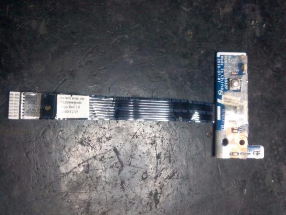 Power Button Com Cabo Flat Notebook Acer 5552 Ls6582p