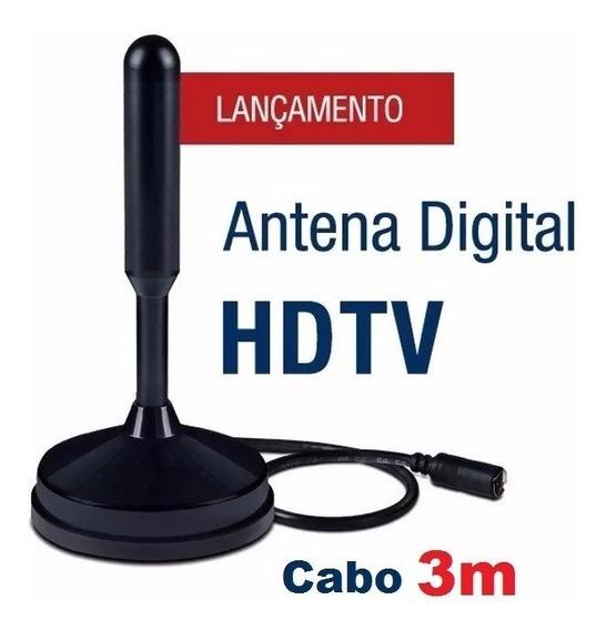 Antena Tv Conversor Digital Hdtv Interna Atacado Brasil