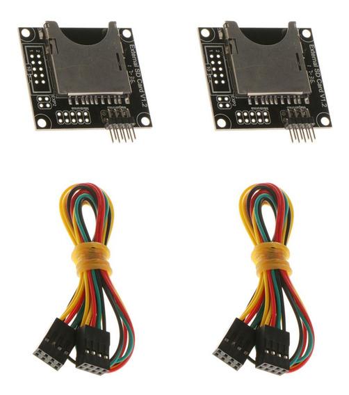 2 Pcs Módulo De Expansão Da Impressora 3d Conector Cartão Ex