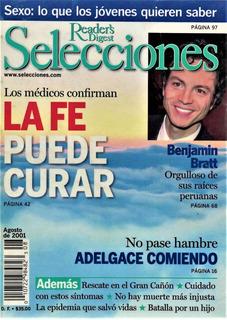 Revista Selecciones. Agosto 2001