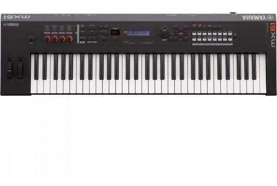 Teclado Musical Sintetizador Mx61 Bk Preto Yamaha