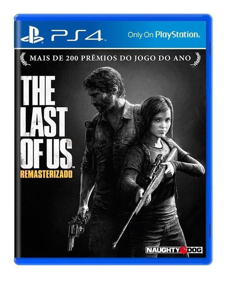 The Last Of Us Remasterizado Ps4 Mídia Física Pronta Entrega