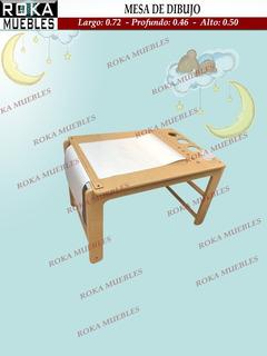 Mesa De Dibujo Pintura Montessori Infantil Roka