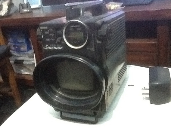 Tv Portatil Sharp Sidekick Modelo 3t - 50b