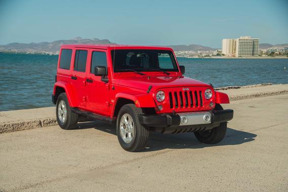 Jeep Wrangler Sahara 2015 4x4
