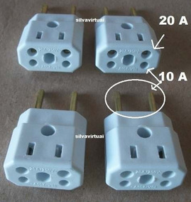 Adaptador 20 Amperes P/ Fonte, Notebook, Netbook, Secador !