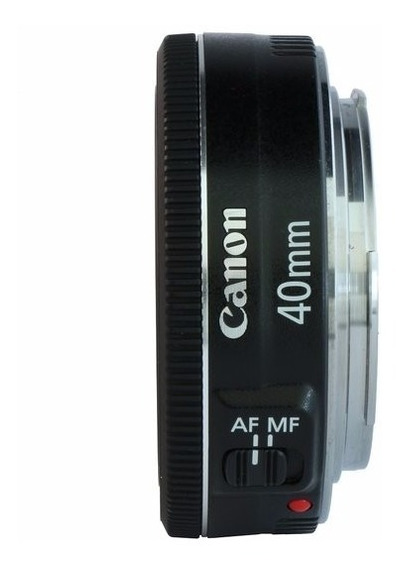 Lente Canon Ef 40mm F/2.8 Stm - Garantia Novo