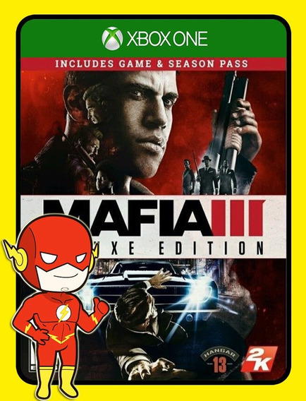 Mafia 3 Deluxe Edition Xbox One - 25 Dígitos (envio Flash)