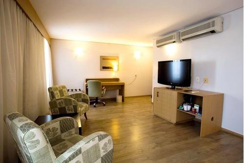 Flat Holiday Inn, Na Zona Norte, Prox A Marg Tiete E Aeroporto Campo De Marte - Sf30099