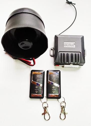 Alarma Para Carro Ultra Ut4000, 2 Controles, Sirena