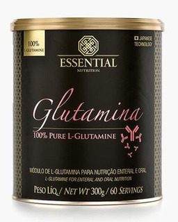Glutamina Lata (300g/60ds) Essential