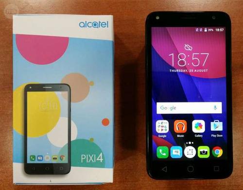 Celular Alcatel Pixi 4 Doble 4g Sim Pantalla 6 Nuevo En Caja