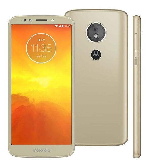 Smartphone Motorola Moto E5 16gb Ouro - Dual Chip 4g Câm 13m